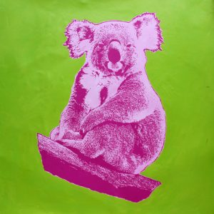 How Much Can A Koala 6a painting by Merry Sparks