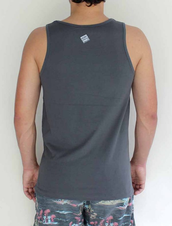 guys charcoal tank back by Merry Sparks