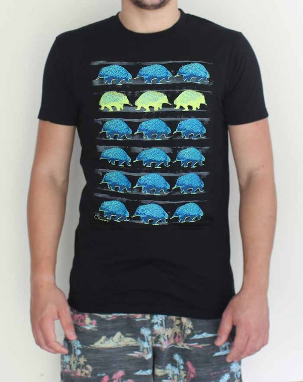 Echidna T Shirt by Merry Sparks