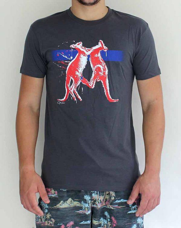 Guys Kangaroo T-shirt by Merry Sparsk