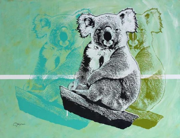 How Much Can A Koala 3 by artist Merry Sparks