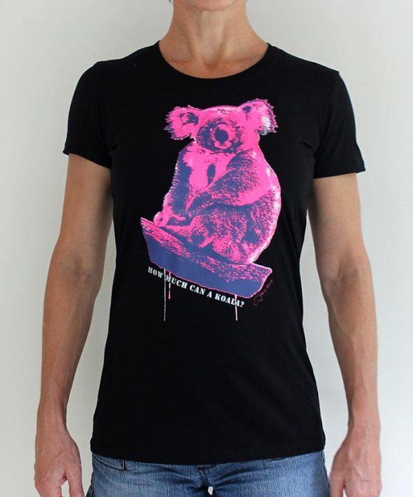 chicks koala tshirt by Merry Sparks