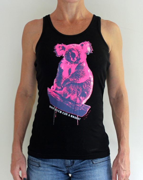 chicks koala tank by Merry Sparks