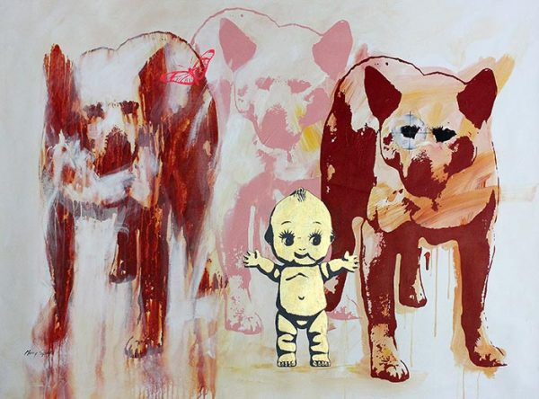 The Dingo Did It 20a painting by Merry Sparks