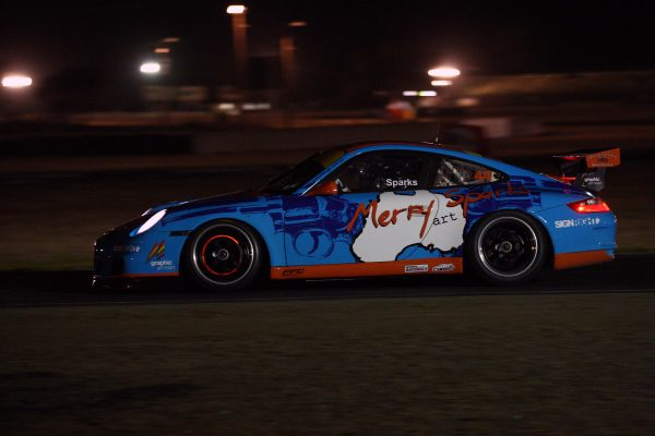 Merry Sparks Porsche Cup Car
