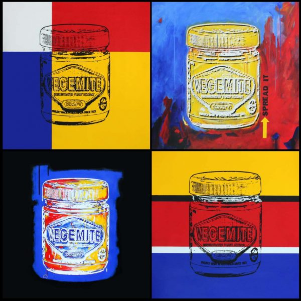 Australias Favourite Spread Mural popart by Merry Sparks