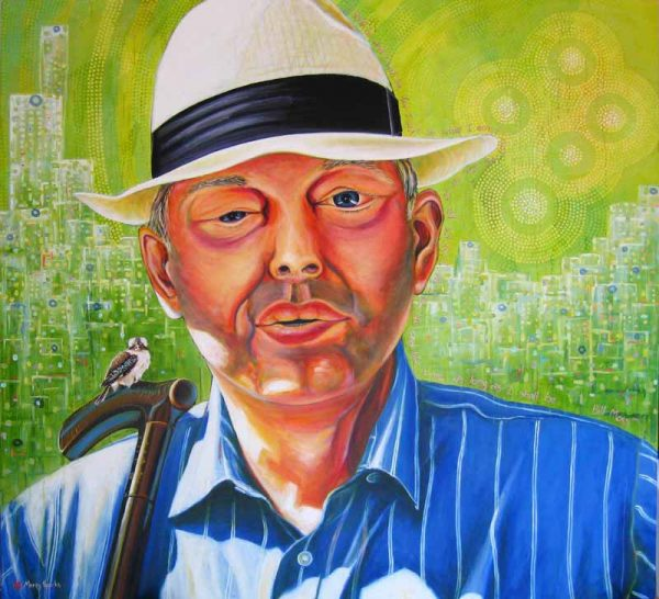 I'll Be Who I Am Bill Moss portrait by Merry Sparks