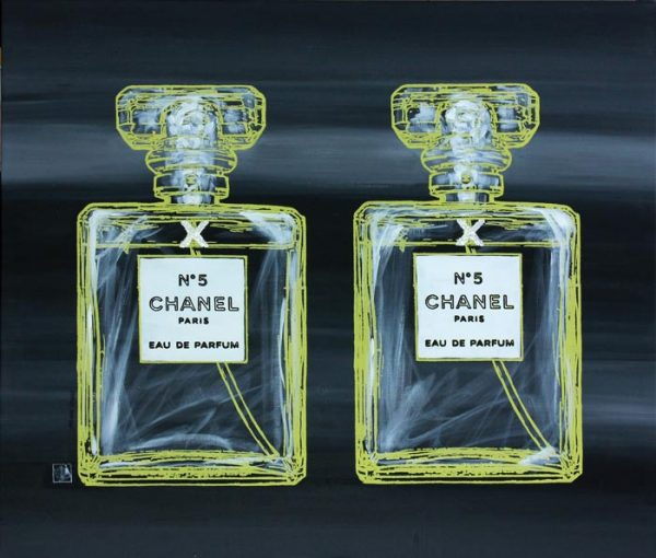 Chanel No 5 11 popart by Merry Sparks