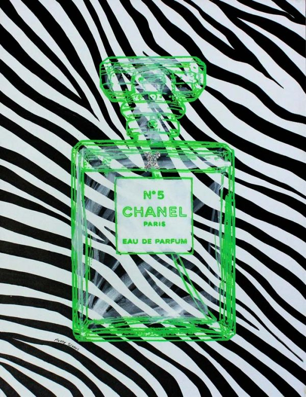 Chanel No 5 12 popart by Merry Sparks