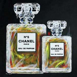 Chanel No 5 18 popart by Merry Sparks