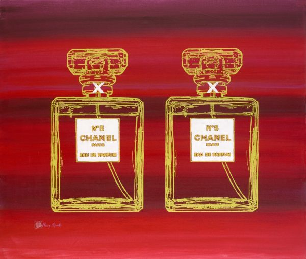 Chanel No 5 8a popart by Merry Sparks