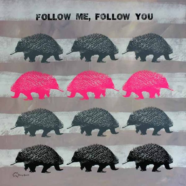 Follow Me Follow You 4 popart by Merry Sparks