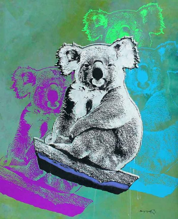 How Much Can A Koala? 2 popart by Merry Sparks