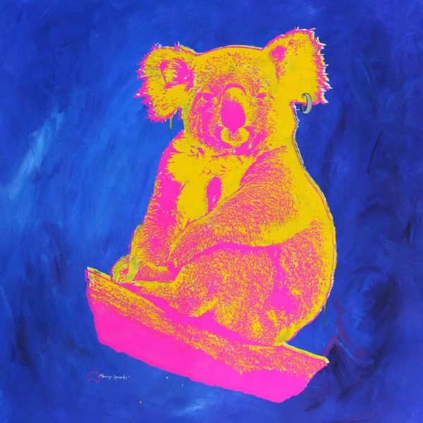 How Much Can A Koala? 4 popart by Merry Sparks