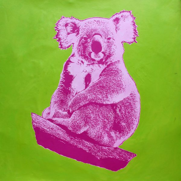 How Much Can A Koala? 6 popart by Merry Sparks