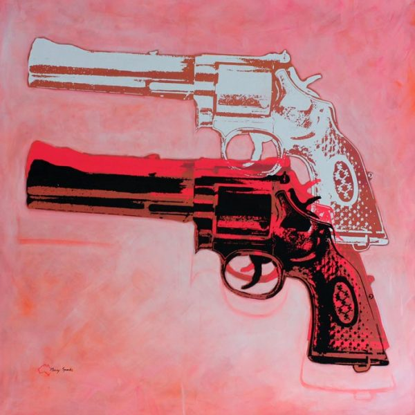 I Shotgun 2 popart by Merry Sparks