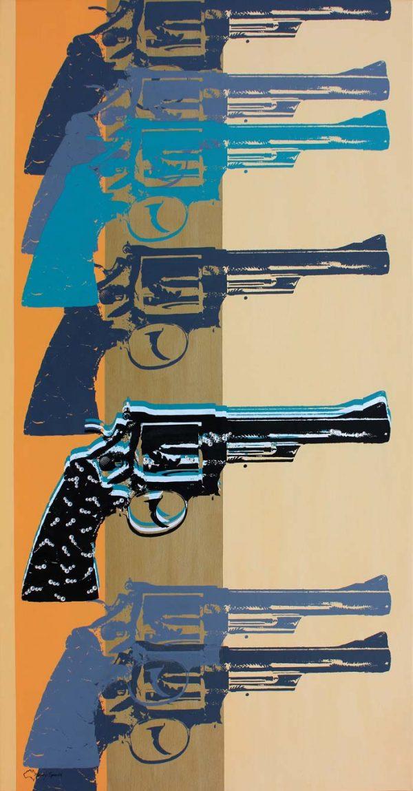 I Shotgun 4 popart by Merry Sparks
