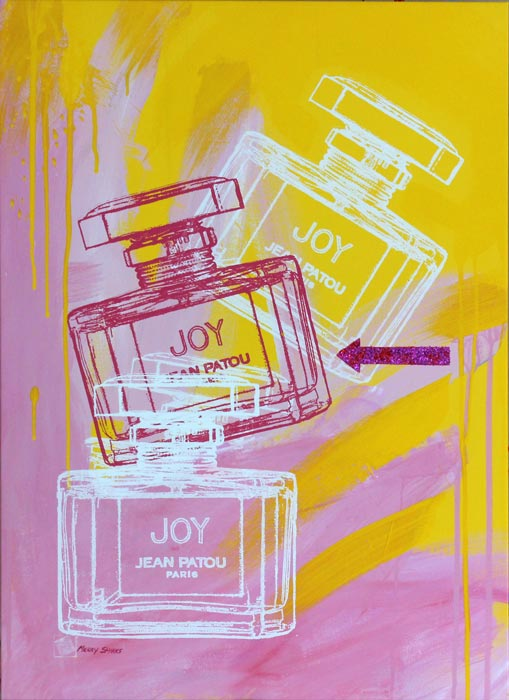 Joy 4 popart by Merry Sparks