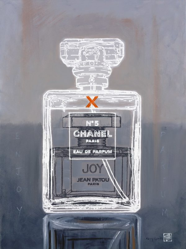 Chanel No 4 and Joy 1 popart by Merry Sparks
