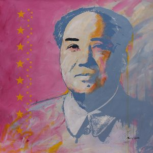 The Chairman 1 popart by Merry Sparks