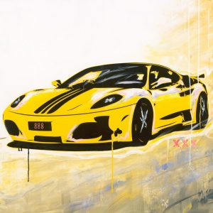 My Speed Yellow Ferrari | Print