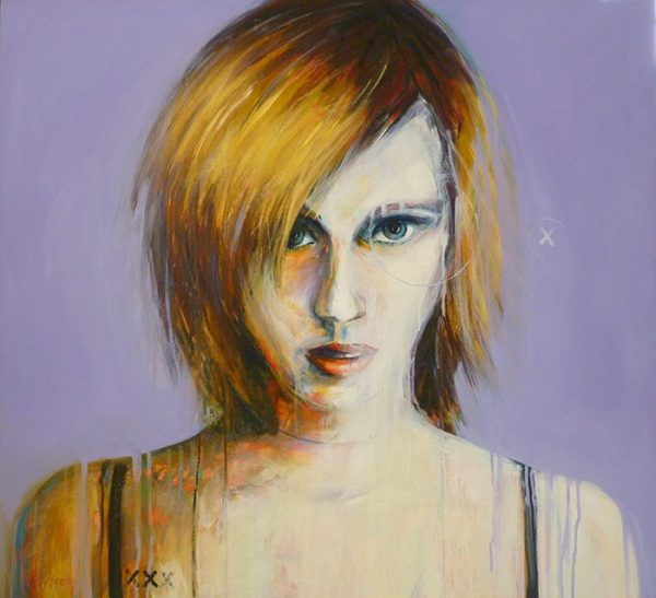 Modern Love girl portrait by Merry Sparks