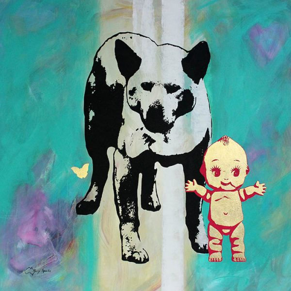 The Dingo Did It 5 popart by Merry Sparks