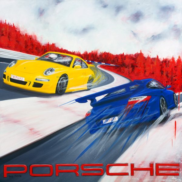 The Lure Of The Ring porsches by Merry Sparks