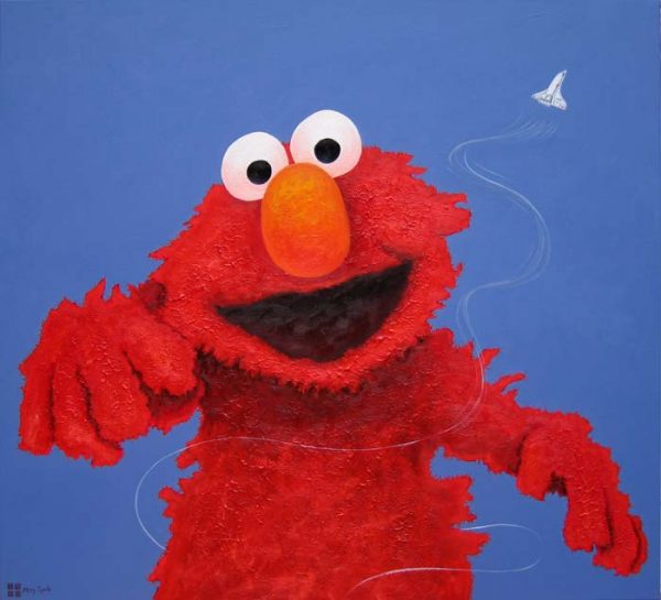 Tickle Me painting by Merry Sparks