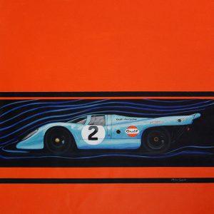 Tunnel Dance Porsche 917 by Merry Sparks