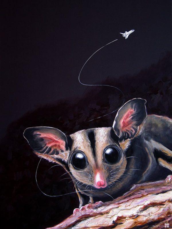 Wild Night sugar glider by Merry Sparks