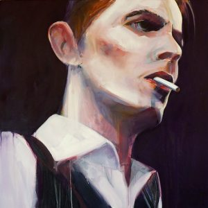 David Bowie portrait by Merry Sparks