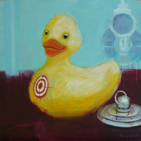 Fucked Duck 1 still life by Merry Sparks