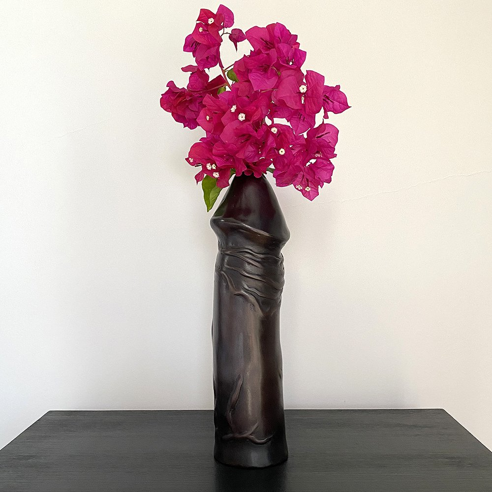 Member No 1 Bronze Vase by Merry Sparks