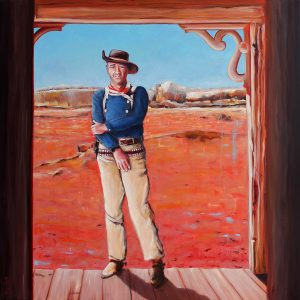 John Wayne - The Searchers by Merry Sparks